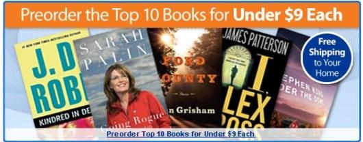 Walmart Books October 26
