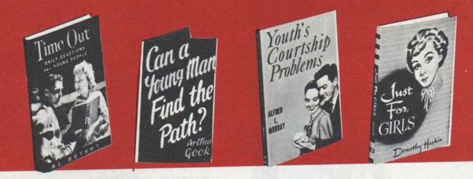 And here's a selection of teen books: At the time Evangelical Publishers had ...