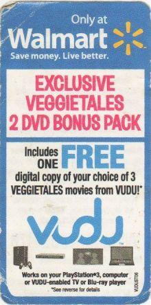 WalMart VeggieTales coupon