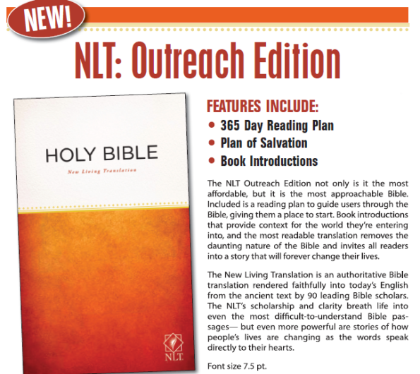 NLT Outreach