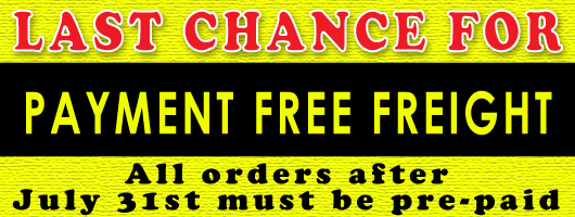 Payment Free Freight