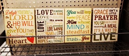 WalMart Christian Gift Items